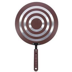 Aluminum Alloy Dosa Tawa Frying Pan Pancake Egg Round Griddl