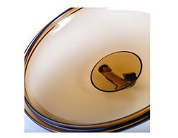 Luminarc France Amberline Blooming Heat-resistant Glass Cass