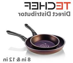 "TeChef - Art Pan 8"" and 11"" Frying Pan Set"