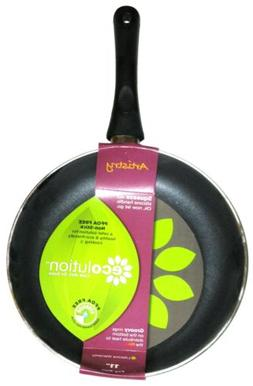 Ecolution EABK-5128 Non-Stick Fry Pan with Handle, Aluminum,