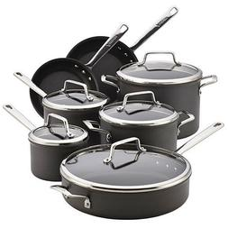 Anolon® Authority 12-pc. Black Hard-Anodized Nonstick Co