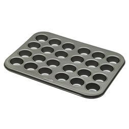 Ecolution Bakeins 24 Mini Muffin and Cupcake Pan – PFOA, B