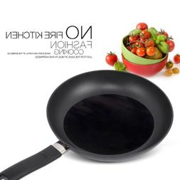 Black Heat Resistant Non-stick Frying Pan Round Mat For Kitc