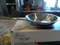 "BRAND NEW ALL CLAD 8"" Fry Pan Skillet Tri-Ply Stainless Stee"