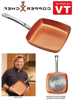 brand new ceramic square nonstick frying pan