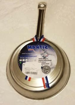 BRAND NEW Sitram Profiserie Frying Pan - 8 inch - Stainless