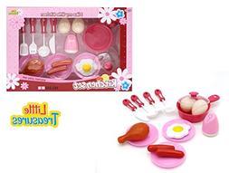 Little Treasures Breakfast & Brunch Small Kitchen Set from P