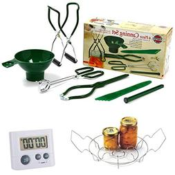 Norpro Canning Essentials Kit Home Supplies Tool Set, Large