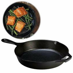 Cast Iron Frying Pan Skillet Oven Grill Stove Baking Nonstic