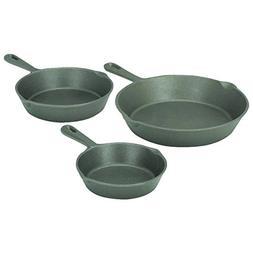 3 Pc Cast Iron Frying Pans 90 Day Warranty 90 Day Warranty