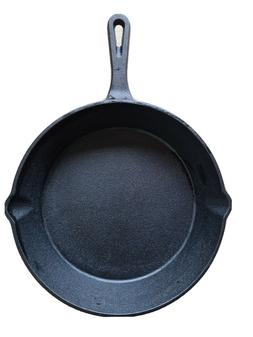 Cast Iron Skillet 10 Inch Fry Pan NEW