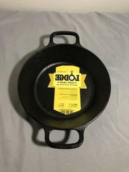 2 Two Handle Cast Iron Skillet 8 inch Fry Pan Pre Seasoned F