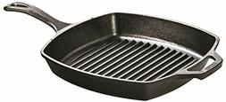 Cast Iron Square Grill Pan Frying Griddle Nonstick Skillet C