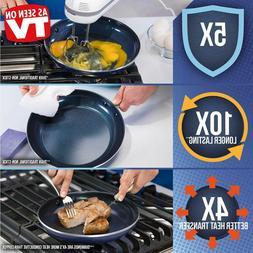 Blue Diamond Pan Cc001602-001 Toxin Free Ceramic Nonstick Co