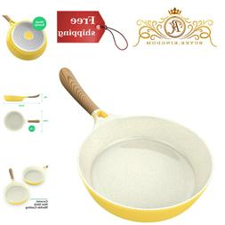 """CONCORD 10.5"""" Ceramic Coated Non Stick Frying Pan Omelet Ski"""