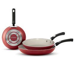 Tramontina Ceramic-Reinforced Nonstick Fry Pans, Set of 3, 8