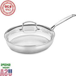 """Cuisinart® Chef's Classic 14"""" Stainless Steel Stir-Fry P"""