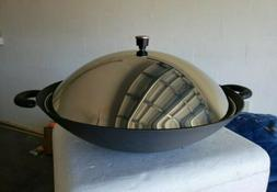 "Circulon 16"" Covered Wok Nonstick Stir Fry Pan NEW no box"