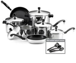 Farberware® Classic Series 15-pc. Stainless Steel Cookwa
