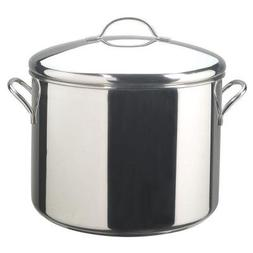 Classic Series 16 Qt. Stockpot Durable Stainless Steel Const