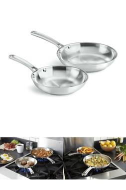 Calphalon Classic Stainless Steel chicken Cookware Fry Pan S
