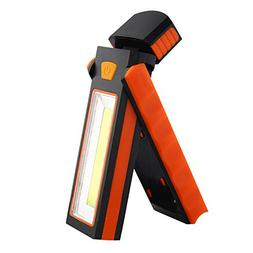 Glumes COB LED Flashlight Pocket-Size  Rotating Hook +2