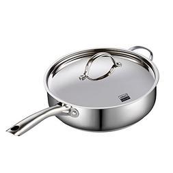 "Cooks Standard Classic 02523 Stainless Steel 5 quart/11"" Dee"