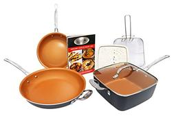 cookware set heavy duty pan