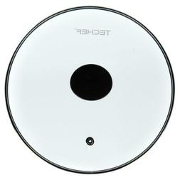 TeChef Cookware Tempered Glass Lid 12-Inch Replacement Part