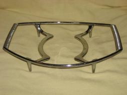 Corning Ware P-11-M Casserole Skillet Platinum Chrome Trivet