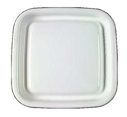 Corning Ware White Coupe Square Microwave Browning Grill