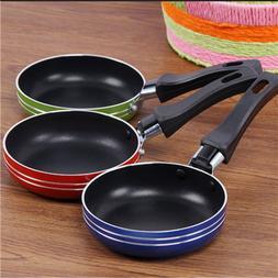Creative mini thick non-stick small frying pan omelette stea