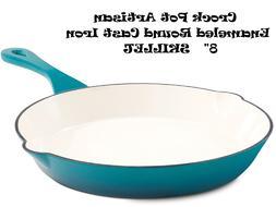 Crock Pot 111976.01 Artisan 8 Inch Enameled Cast Iron Round