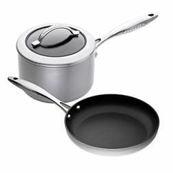 Scanpan CTX 3-Piece Cookware Set, 11-inch Fry Pan with 2-3/4