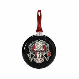 Guy Fieri Decorated Fry Pan with Eagle Design, 9-1/2-Inch
