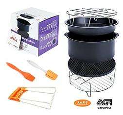 Deep Fryers Universal Air Fryer Accessories Including Cake B