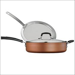 Tramontina 3-Piece Deep Saute Pan Set  - 80143/588