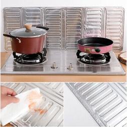 Dining Oil Splash Guard Aluminum Foil Cooking Frying Screen