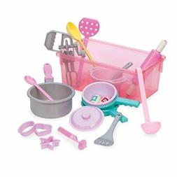 Play Circle by Battat – Making Dinner for Eight Cookware S