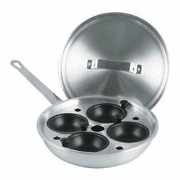 "Egg-Poacher Set in 8-1/2"" Aluminum Fry Pan"