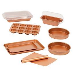Copper Chef 12 Piece Elite Baking Pan Set- 9 Inch Cake Pan x