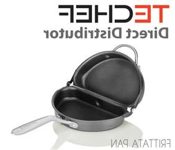 TECHEF Frittata and Omelette Pan Coated with New Teflon Sele