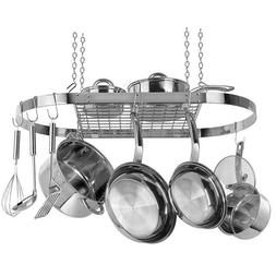 STAINLESS STEEL OVAL POT