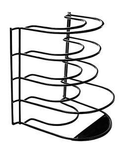 Frying Pan Rack Standing Organizer Holder Storage Cookware K