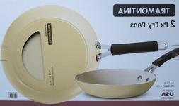 Tramontina Frying Pan Set 2Pc Beige