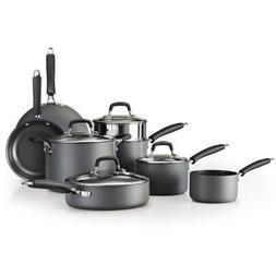 Tramontina 12-Piece Gourmet Hard Anodized Cookware Set