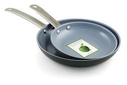 Gourmet 2 Piece Non-Stick Frying Pan Set