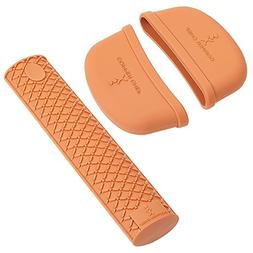 Copper Chef Gourmet Silicone Handle Set 3 Pcs