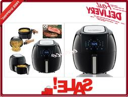 GoWISE USA 5.8-Quarts 8-in-1 Electric Air Fryer XL + 50 Reci
