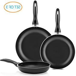 Chef's Star Professional Grade 3 Piece Non-stick Frying Pan